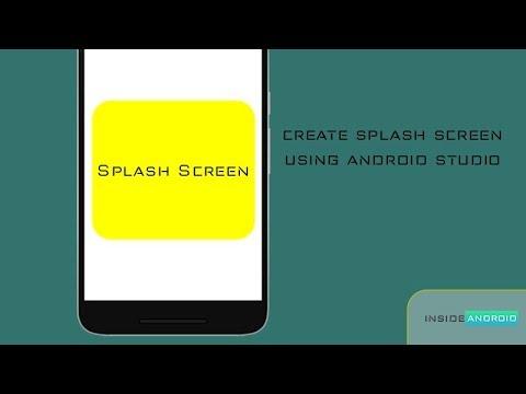 Create Splash Screen using External Library Android Studio Tutorial