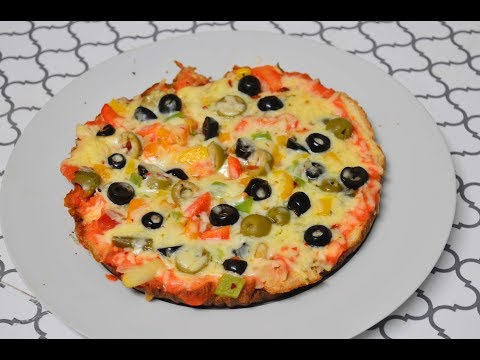 Quick and easy bread pizza in tamil| home made bread pizza | pan pizza |make pizza sause