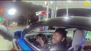 "Complete Traffic Stop of Migos Rapper Offset; ""Stop picking on black folks!"""