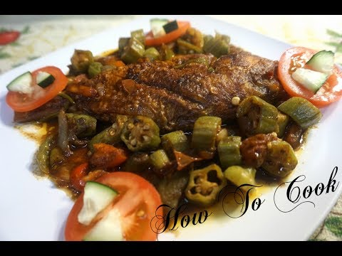 THE BEST Tasty Jamaican Brown Stew Snapper Fish Recipe  / HOW TO Cook 2018