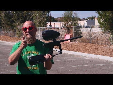 GoG eXTCy Paintball Gun - Shooting