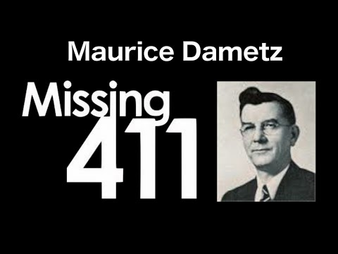 Maurice Dametz Case - Missing 411
