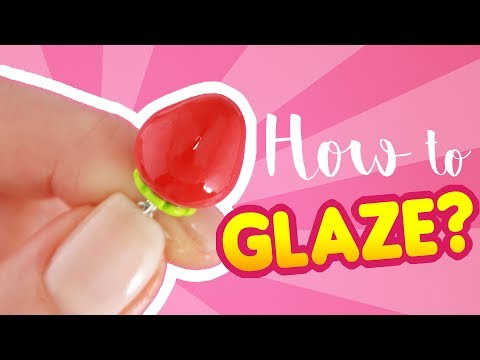 HOW TO GLAZE? -5 TIPS for POLYMER CLAY!