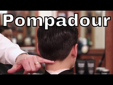 How To Cut and Style Children's Modified Pompadour Haircut - Greg Zorian Haircut Tutorial