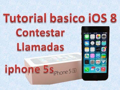 Tutorial y Guía de uso Iphone 5s parte 98 Cómo contestar un iPhone