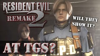 Resident Evil 2 Remake At Tokyo Game Show TGS? Probably Not.