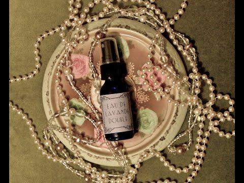 DIY 1922 perfume ~ Eau de Lavande Double ~ Scents of the Past Ep. 2