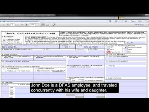 How to Complete and Submit a Civilian Relocation: En Route Travel Claim - Part 1 of 3