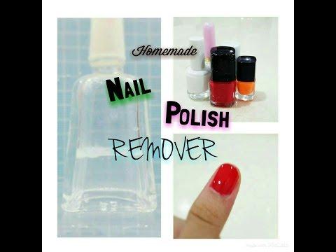 Homemade: Nail polish remover ~ ⊙▽⊙