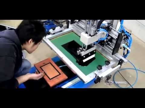 Leather Silk Screen Printing Machines