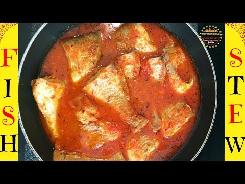 How to Cook Red Bream Fish Stew | Nigerian Fresh Fish Stew