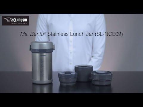 Zojirushi Ms. Bento® Stainless Lunch Jar SL-NCE09
