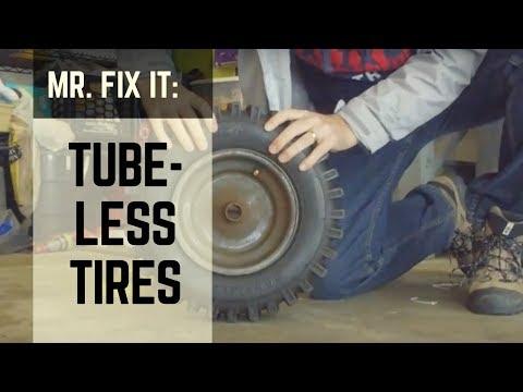 HOW TO   Tubeless Tire Repair