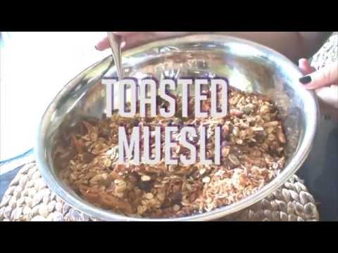 How to Make Toasted Muesli