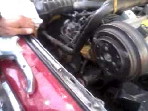 Ford ranger timing change