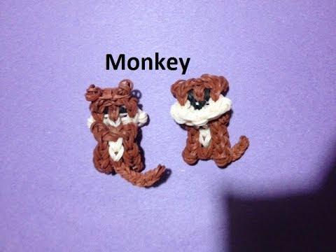 How to Make a Monkey on the Rainbow Loom - Original Design