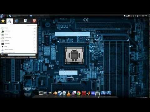 Gnu-Linux Fedora 18 (Kde)