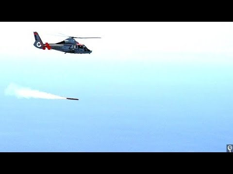Second Trial Success For MBDA's Sea Venom Anti Ship Missile Launch