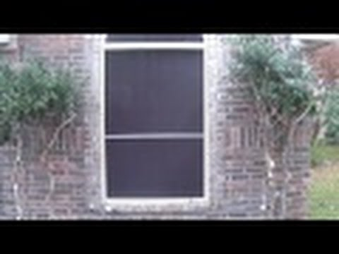 How to build a Frame to hold Christmas lights in a window