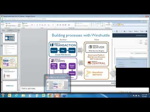 Webinar - Fast, Flexible SAP Workflow Automation with Sharepoint