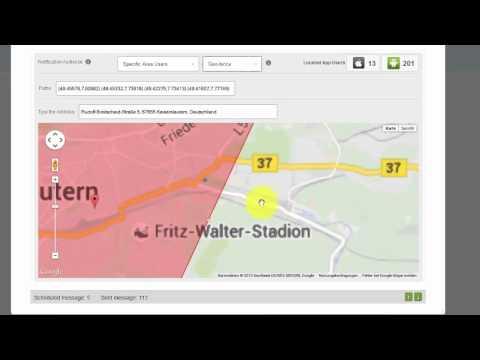 App GEO Fence Push Nachrichten senden - App Entwicklung GoMobile Deutschland