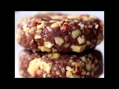 Healthy No Bake Ferrero Rocher Cookies (Paleo, Vegan, Gluten Free, Keto)