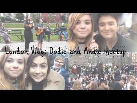 LONDON VLOG: Dodie and Andie meetup