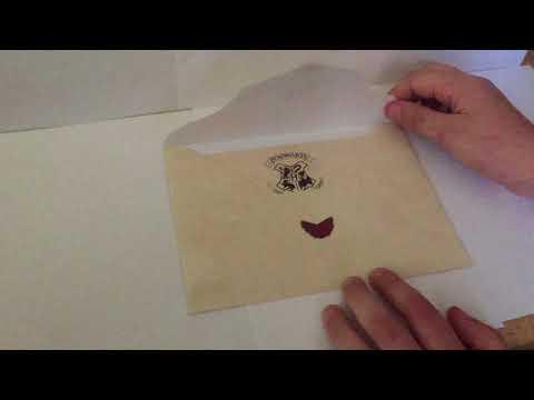 Harry Potter's Hogwarts Acceptance Letter