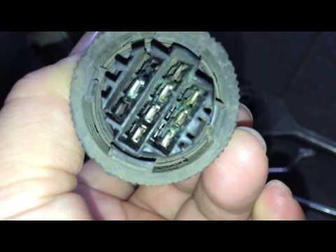 Cara perbaikan kabel  extra fan peugeot 306