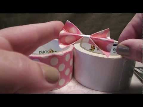 Duct Tape Hair Bows Tutorial