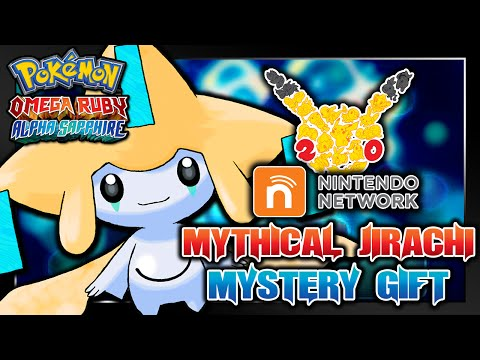 Pokémon Omega Ruby & Alpha Sapphire - 20th Anniversary Jirachi Wi-Fi Mystery Gift Event!