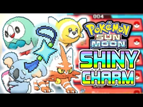 Pokemon Sun and Moon ► How to Get the SHINY CHARM + COMPLETE ALOLA POKEDEX!