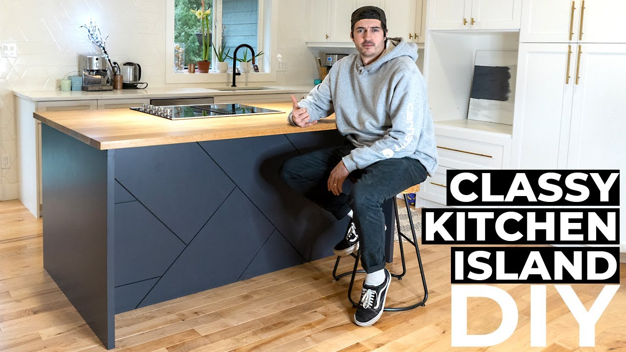 How To Build The Classiest Kitchen Island In The World | DIY