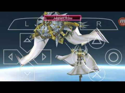 Crisis Core Final Fantasy VII in PPSSPP Android -  Minerva fight (hard mode)