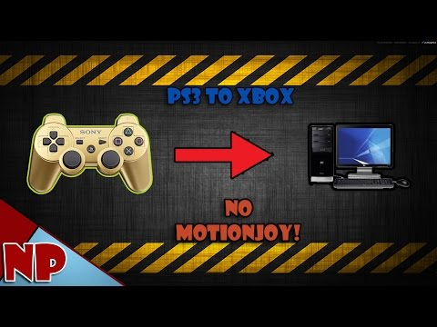 (Easy)How to Connect PS3 Controller to PC (No MotioninJoy!)(2017 Win 10)