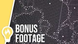 BONUS FOOTAGE: 2 minutes of balls settling into a lattice