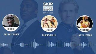 'The Last Dance,' Bulls/Pacers, Michael Jordan vs. LeBron (5.18.20) | UNDISPUTED Audio Podcast
