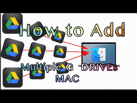 How To Add Multiple Google drives to Finder MAC