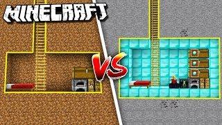 Minecraft NOOB vs. PRO: SECRET BUNKER in Minecraft!
