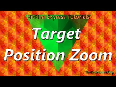 How to Focus Zoom & Pan to a Specific Position in Hitfilm Express