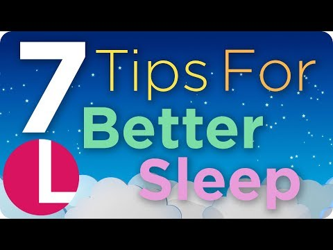 7 Tips to Help You Get a Better Night's Sleep | Lorraine