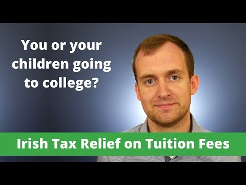 Tuition fee tax relief in Ireland