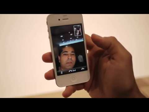 iPhone 4 FaceTime video demo (by Engadget)
