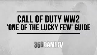 Call Of Duty Ww2 One Of The Lucky Few Achievement / Trophy Guide (breach The Seawall Without Mg Hit)