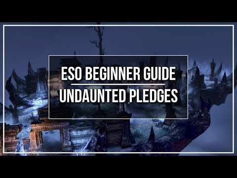 ESO Beginner Guide - Undaunted Pledges