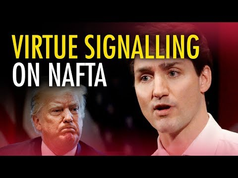 "Trudeau's ""disastrous"" foreign affairs streak hits NAFTA"