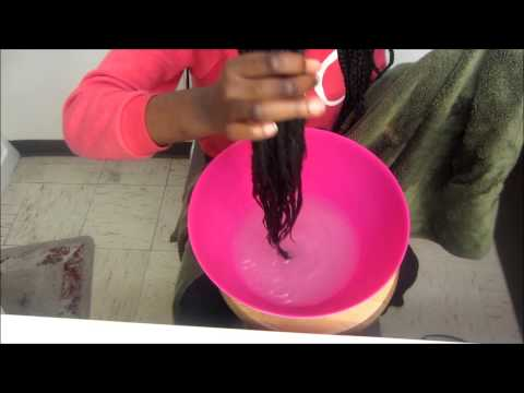 How to seal the ends of your box braids