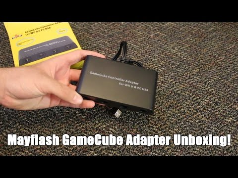 Mayflash GameCube Controller Adapter Unboxing! [Wii U & PC]