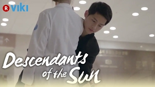 Descendants of the Sun - EP1 | Song Joong Ki Knocks Song Hye Kyo's Phone Out Of Her Hand [Eng Sub]