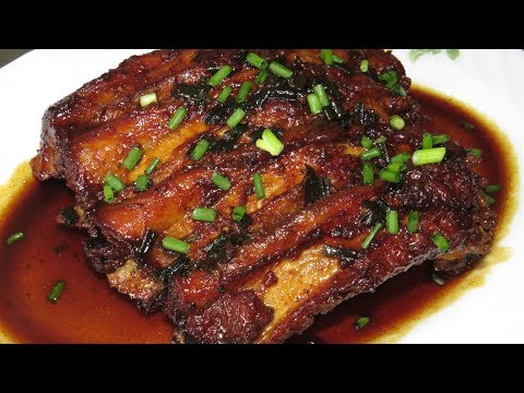 Cooking Pork Ribs With Coca Cola | Easy Pork Ribs Recipe By Kimyee Ros Cooking